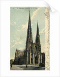 St Patrick's Cathedral, New York City, New York, USA by Anonymous