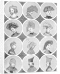 Male headdresses by Anonymous