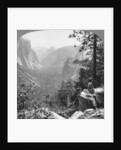 View from Inspiration Point through Yosemite Valley, California, USA by Underwood & Underwood