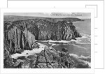 The Lion's Den from Pordenack, Land's End, Cornwall by Anonymous