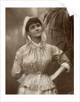 Agnes Hewitt, British actress by HS Mandelssohn