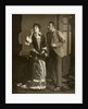 Mary Rorke and Charles Wyndham, British actors by Brown