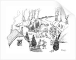 A village, the most cheerful in the world by Gordon Frederick Browne