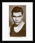 Max Schmeling, German boxer by Anonymous