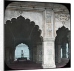 Interior of the Diwan-i-Khas, Red Fort, Delhi, India by Anonymous