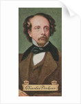 Charles Dickens, taken from a series of cigarette cards by Anonymous