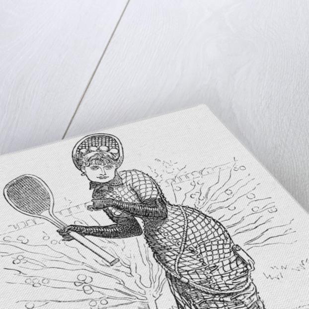 Lawn-Tennis Costume by Edward Linley Sambourne