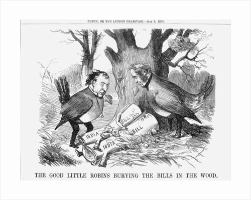 The Good Little Robins burying the Bills in the Wood by Anonymous