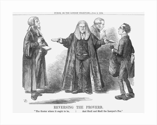 Reversing the Proverb by John Tenniel