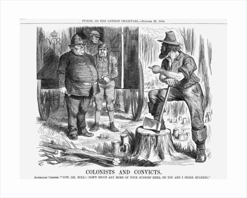 Colonists and Convicts by John Tenniel