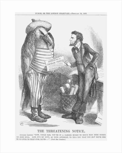 The Threatening Note by John Tenniel