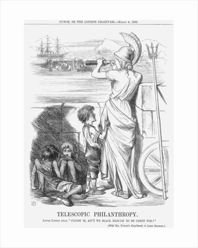 Telescopic Philanthropy by John Tenniel