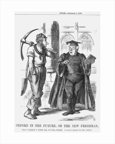 Oxford in the Future, or the New Freshman by John Tenniel