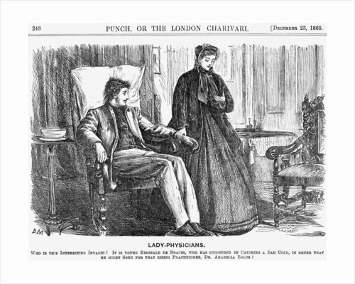 Lady-Physicians by George du Maurier