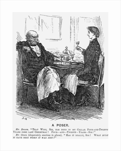 A Poser by George du Maurier