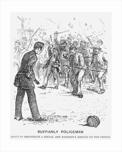 Ruffianly Policeman by Anonymous