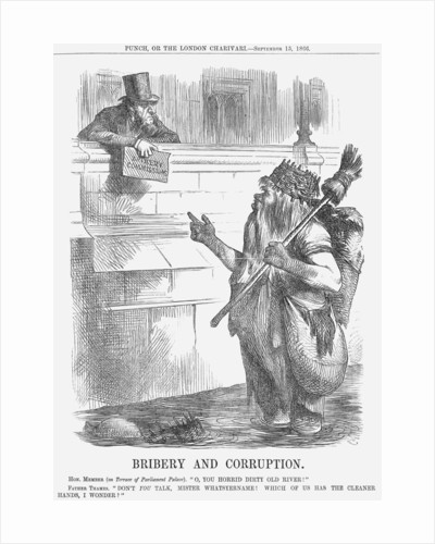Bribery and Corruption by John Tenniel