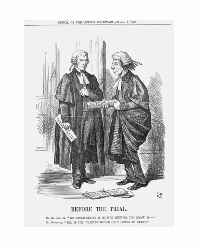 Before The Trial by John Tenniel