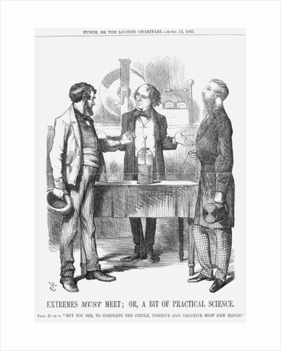 Extremes Must Meet; or, A Bit of Practical Science by John Tenniel