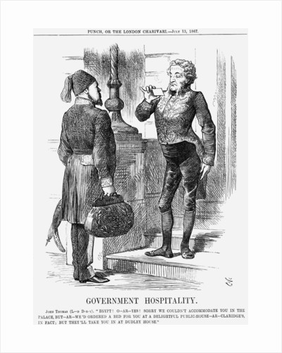 Government Hospitality by John Tenniel