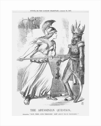 The Abyssinian Question by John Tenniel