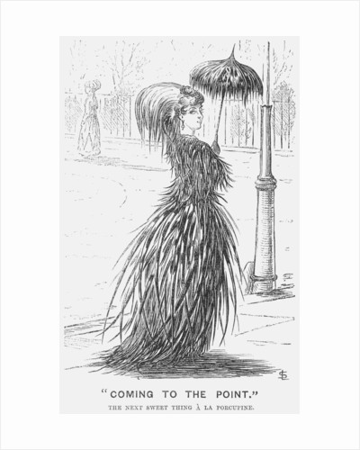 Coming To The Point by Edward Linley Sambourne