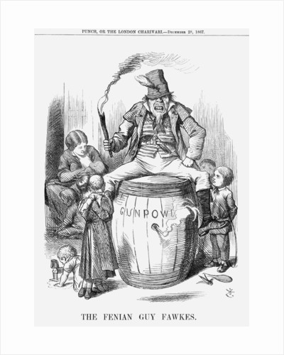 The Fenian Guy Fawkes by John Tenniel