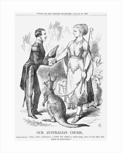 Our Australian Cousin by John Tenniel
