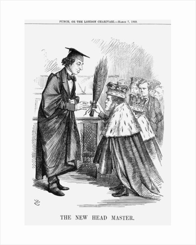 The New Head Master by John Tenniel