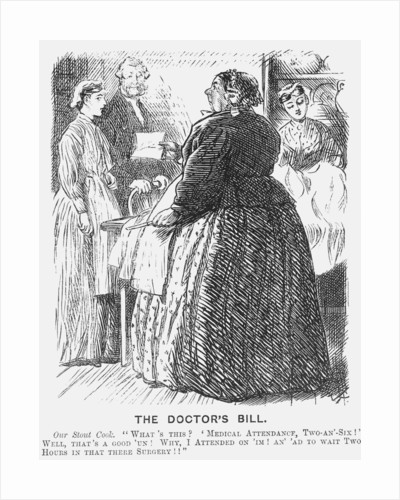 The Doctor's Bill by Charles Samuel Keene