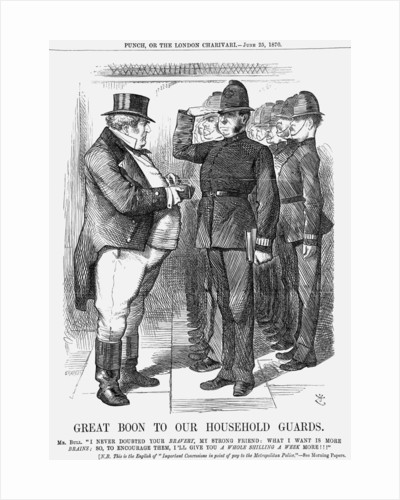 Great Boon to Our Household Guards by Joseph Swain