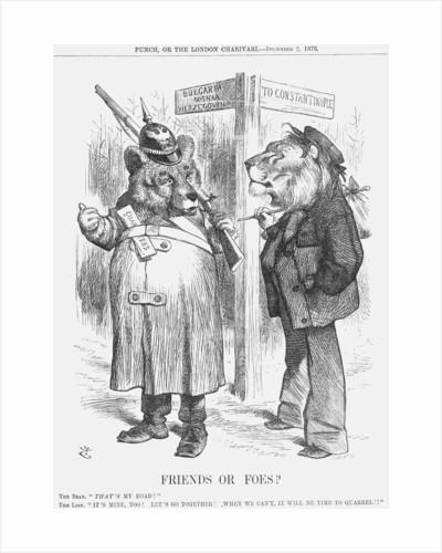 Friends or Foes? by Joseph Swain