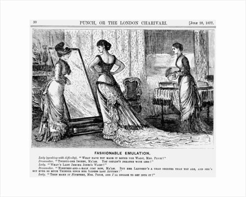 Fashionable Emulation by George du Maurier