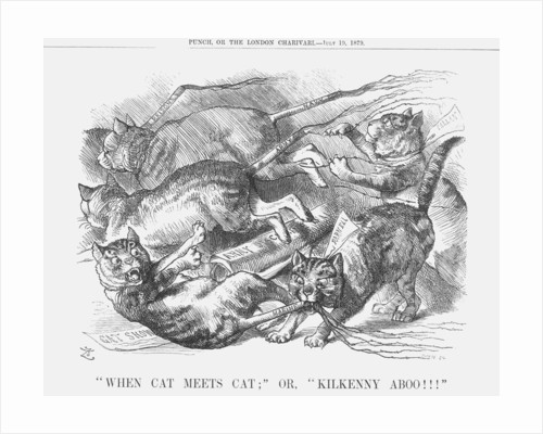 When Cat Meets Cat; or, Kilkenny Aboo!!! by Joseph Swain