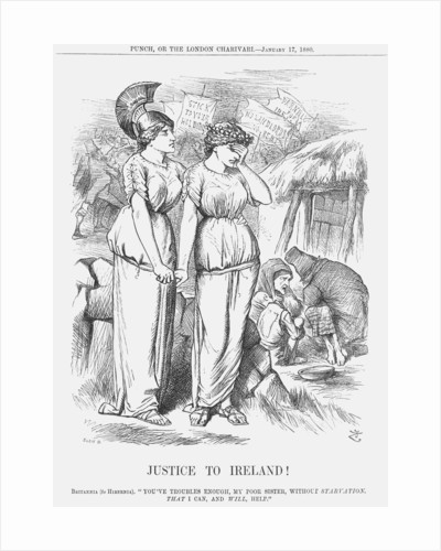 Justice to Ireland by Joseph Swain