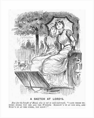 A Sketch at Lords by Anonymous