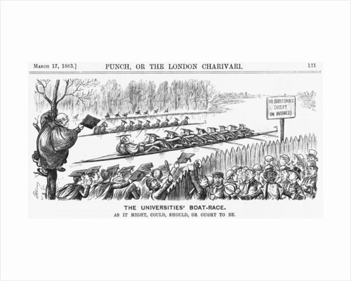The Universities' Boat-Race by Anonymous