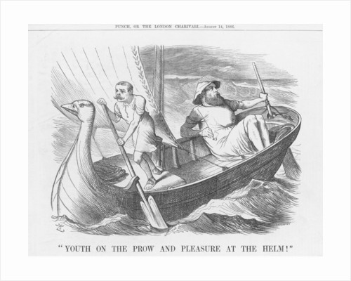 Youth on the Prow and Pleasure at the Helm! by Joseph Swain