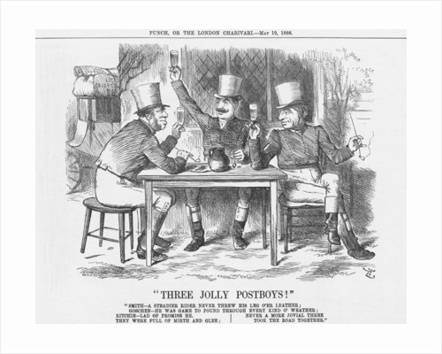Three Jolly Post Boys! by Joseph Swain