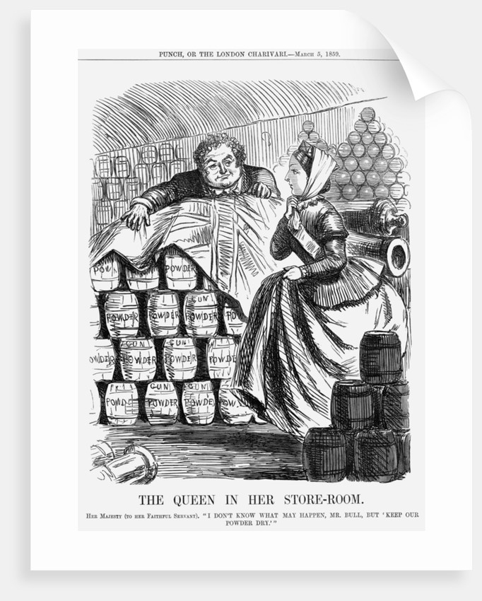 The Queen in her Store-room by Anonymous