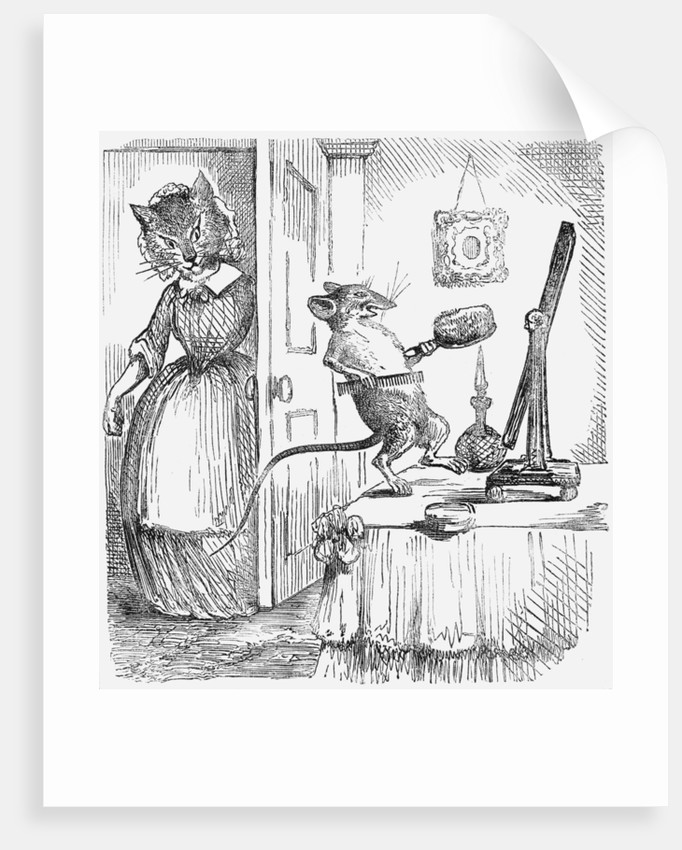 A mouse on a dressingtable by Anonymous