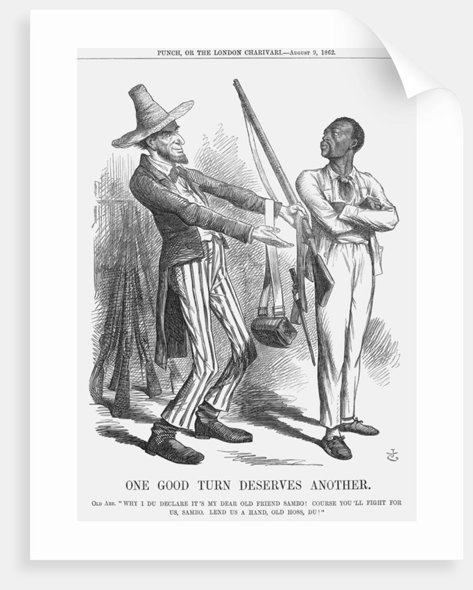 One Good Turn Deserves Another by John Tenniel