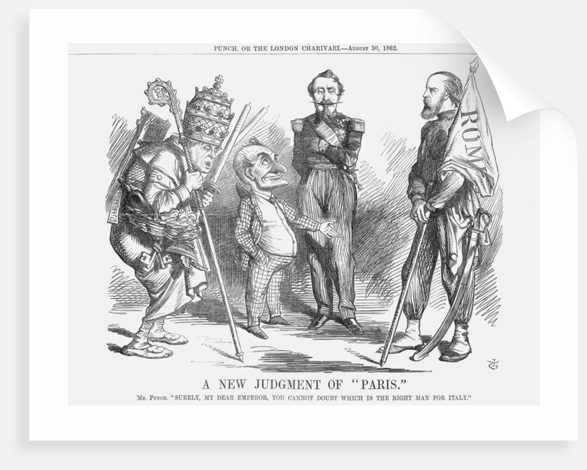 A New Judgement of Paris by John Tenniel
