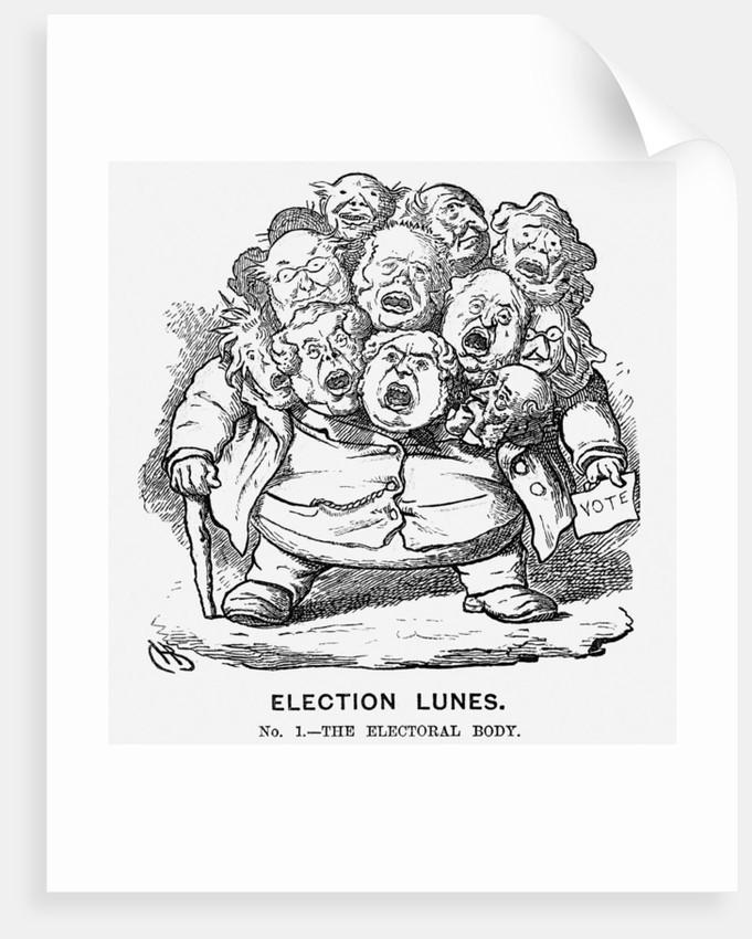 Election Lunes by Charles Henry Bennett