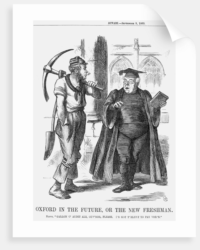 Oxford in the Future, or the New Freshman by John Tenniel
