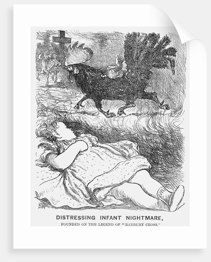Distressing Infant Nightmare by George du Maurier