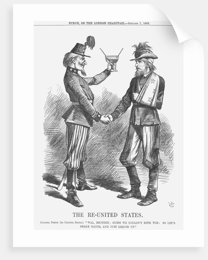 The Re-United States by John Tenniel
