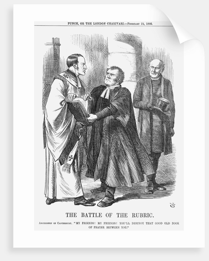 The Battle of the Rubric by John Tenniel