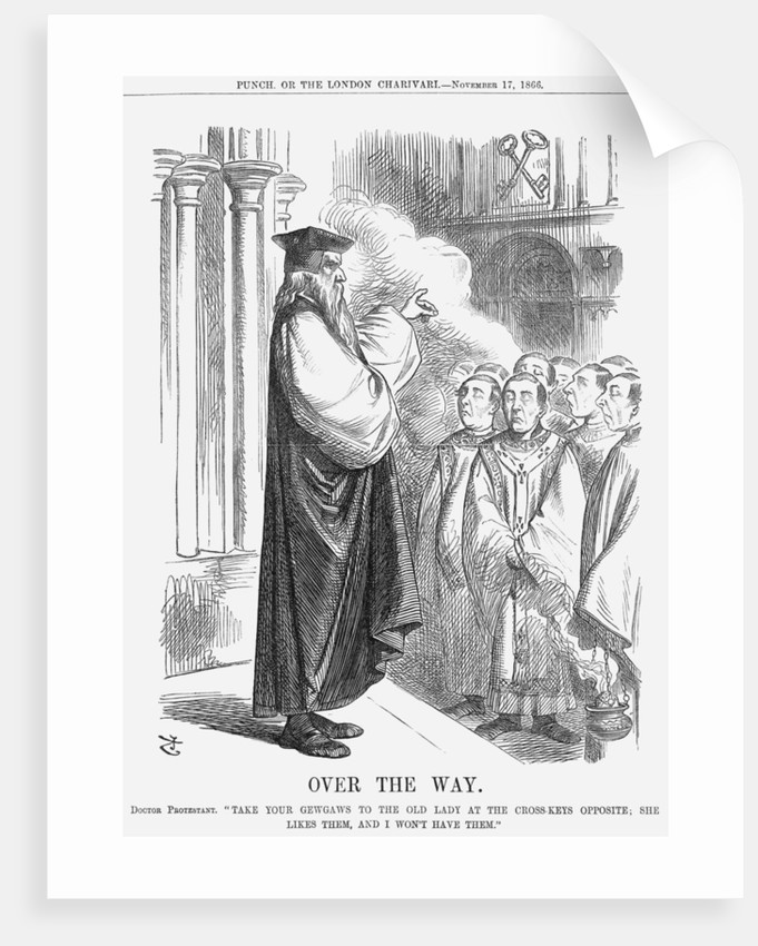 Over The Way by John Tenniel