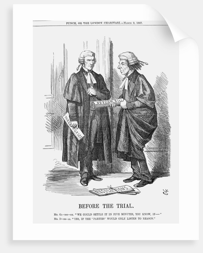 Before The Trial by John Tenniel